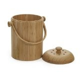 Bamboo Compost Crock
