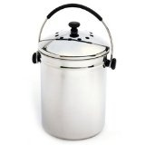 Stainless Steel Compost Crock
